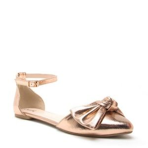 Shoes - Moving Sale! Rose Gold Flats